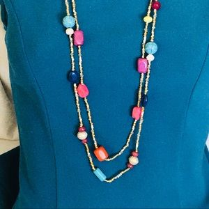 NWT Turquoise beads necklace